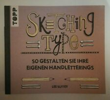 Handlettering Übungsbuch - Sketching Type - Lee Suttey - Originalpreis: 17,99€