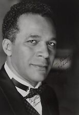 Clifton Davis Original Autographed B&W Photograph, Songwriter for the Jackson 5
