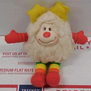 """Vintage 1983 Rainbow Brite 11"""" Twink White Sprite Plush Stuffed Toy Hallmark"""