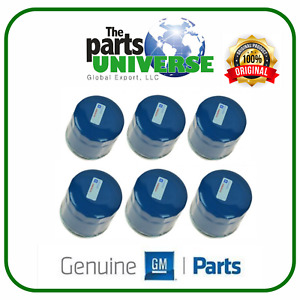 Chevrolet GM OEM 13-15 Fit Spark Engine-Oil Filter 96985730 (6 PIECES)