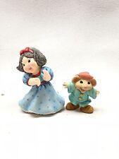 1997 Hallmark Merry Miniatures Snow White Figurines