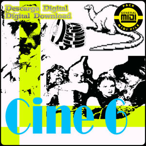CINE 6 - Pack 8 Midi Files. Descarga Digital. Escucha Demos. General Midi