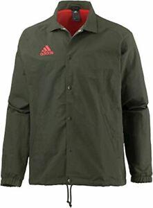 nwt~Adidas TANGO COACH Jacket Track soccer sweat shirt Climastorm tiro~Mens sz M
