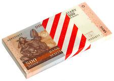 Madagascar 500 Ariary 2004 P 88 Unc (Bundle of 100 Notes)