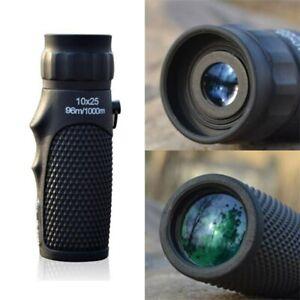 10X25 mini Zoom Telescope Monocular Binoculars Day telescopio for outdoor travel