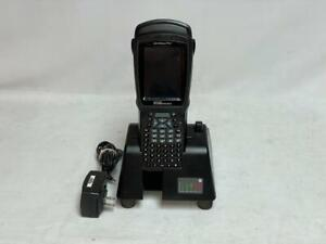 Psion Teklogix Workabout Pro 3 7527C-G2 Handhold Mobile Scanner with Dock