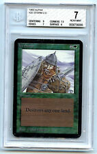 MTG Alpha Ice Storm BGS Graded 7 NM card 1993 Magic the Gathering WOTC 0006
