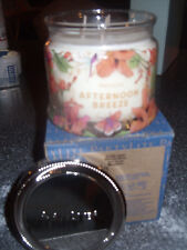 Partylite AFTERNOON BREEZE SIGNATURE 3-wick JAR CANDLE  BRAND NEW FALL 2016