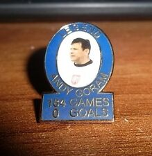 RANGERS FC ANDY GORAM BADGE