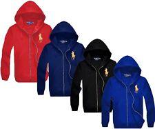 *NWT - POLO RALPH LAUREN Men's BIG PONY Full Zip Fleece Hoodie Jacket : S - XXL