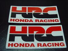 HRC Sticker Decal CBR NSR 250 400 600 900 1000 Fireblade Hornet Parts x2