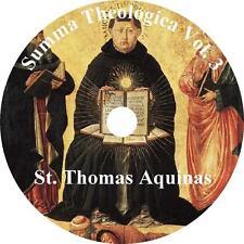 Summa Theologica, Vol 3 St. Thomas Aquinas unabridged Audiobook English on 1 MP3