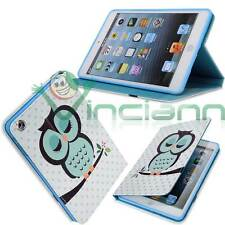 Custodia Gufo per Apple iPad Mini 1 2 3 cover  stand up BOOKLET libretto