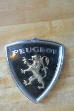 original plastic hood ornament Peugeot auto car emblem lion crest advertising