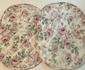 Set (2) Vintage Simply Shabby Chic Rosalie Floral Placemats New With Tags 19x14