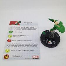 Heroclix Amazing Spider-Man set Vulture #019 Uncommon figure w/card!