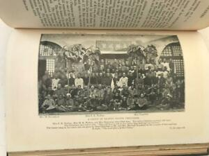1901 Book Martyred Missionaries of the China Inland Mission Maps Printed Photos