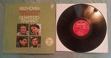Beethoven String Quartets 2, 4 Philips Netherlands import LP Vol 3 6500 646 exc+