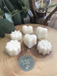 WAX MELTS🧡BUY 5 GET 1 FREE🧡HAND MADE🧡100% SOY🧡6 HIGHLY SCENTED MELTS🧡50g🧡