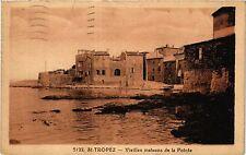 CPA ST TROPEZ Vieilles maisons de la Pointe (410632)