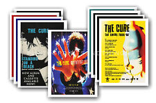 THE CURE  - 10 promotional posters - collectable postcard set # 2