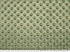 Minky 3 D Noppenflausch Wellnesss Fleece grün 155cm