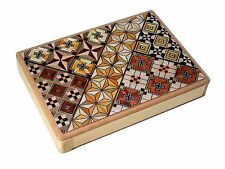 Japanese Magic Box Wooden Puzzle Trick Hakone Yosegi Japan New