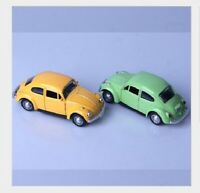 Child's 1:32 beetle Classic  Alloy Diecast Car Model Two doors can be opened