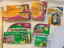 Expired Vintage 35mm Kodak Gold Color 200 Film Fujifilm Super HQ Advantix HD Lot