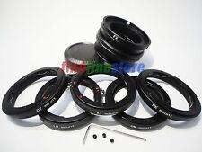 AI CY LR OM PK Lens to Fujifilm Fuji FX X mount Macro Helicoid Adapter X-Pro1 E1
