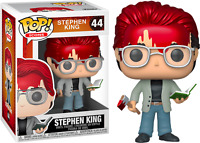 Bloody Stephen King with Axe & Book Funko Pop Vinyl New in Mint Box + Protector