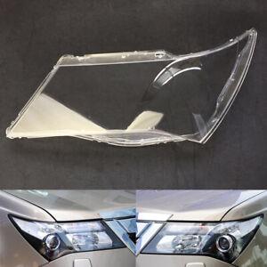 Pair For Honda Acura MDX 2007~2013 Headlight Cover Car Headlamp Lens Auto Shell