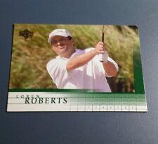 LOREN ROBERTS 2001 UPPER DECK GOLF CARD # 47 B7242