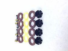 FUEL INJECTOR REPAIR KIT O-RINGS FILTERS PINTEL CAPS 1991-1994 BMW 318I 1.8L L4