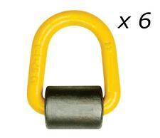 (6 Pack) 3T WLL Weld on Lifting Lug Truck Ute Lashing Point 4x4 Tie Down Sling !