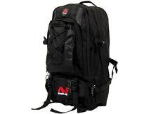 Minelab Jumbo Sized Hiking Black Backpack, Heavy padded air mesh back panel