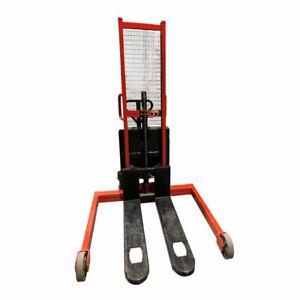 LiftMate VVE 1600, Semi Electric Straddle Stacker