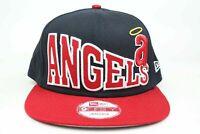 MLB California Angels Stoked Snap Navy Red White MLB New Era 9Fifty Snapback Hat