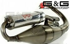 EXHAUST LEOVINCE Handmade TT ROAD LEGAL IN GERMANY PEUGEOT Buxy Trekker Vivacity