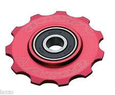Acor 10 T CNC aleación Ruedas Para Shimano trasero desviadores 7 8 Velocidad