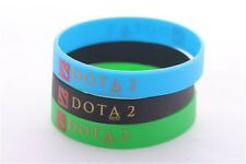 3pcs Dota 2 Defense Of The Ancients Silicone Rubber Wristbands Bangles Cos Gift