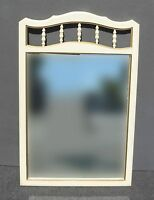 Vintage French Provincial Wall Mantle Mirror made by Dixie