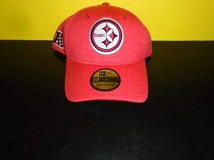 Pittsburgh Steelers New Era 39FIFTY Red Pro Bowl Edition Flex Hat S-M NEW