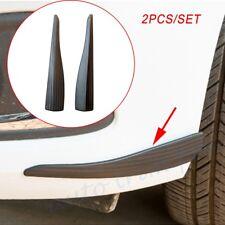 Universal Car Front Rear Bumper Guard Edge Protection Anti-rub Strips Crash Bar