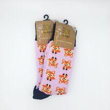Fox Socks,2 PAIR PACK,Novelty socks,Funky socks,Fancy socks