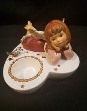 Goebel Figurine Lying angel, Bordeaux 44071