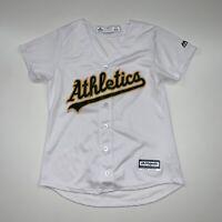 Oakland A's Athletics Jersey Size Women's Small White MLB Baseball