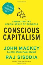 Conscious Capitalism by Mackey, John Book The Fast Free Shipping
