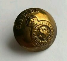 Original WW2 Sweetheart Brooch made from a Canadian General Service Button.