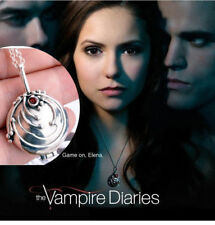 The Vampire Diaries Elena's Vervain Oval Locket Necklace (Pendant + Chain)